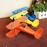 Anti Japanese WWII Flying Tigers Aircraft Model Props To Do The Old Home Crafts Tin Ornaments