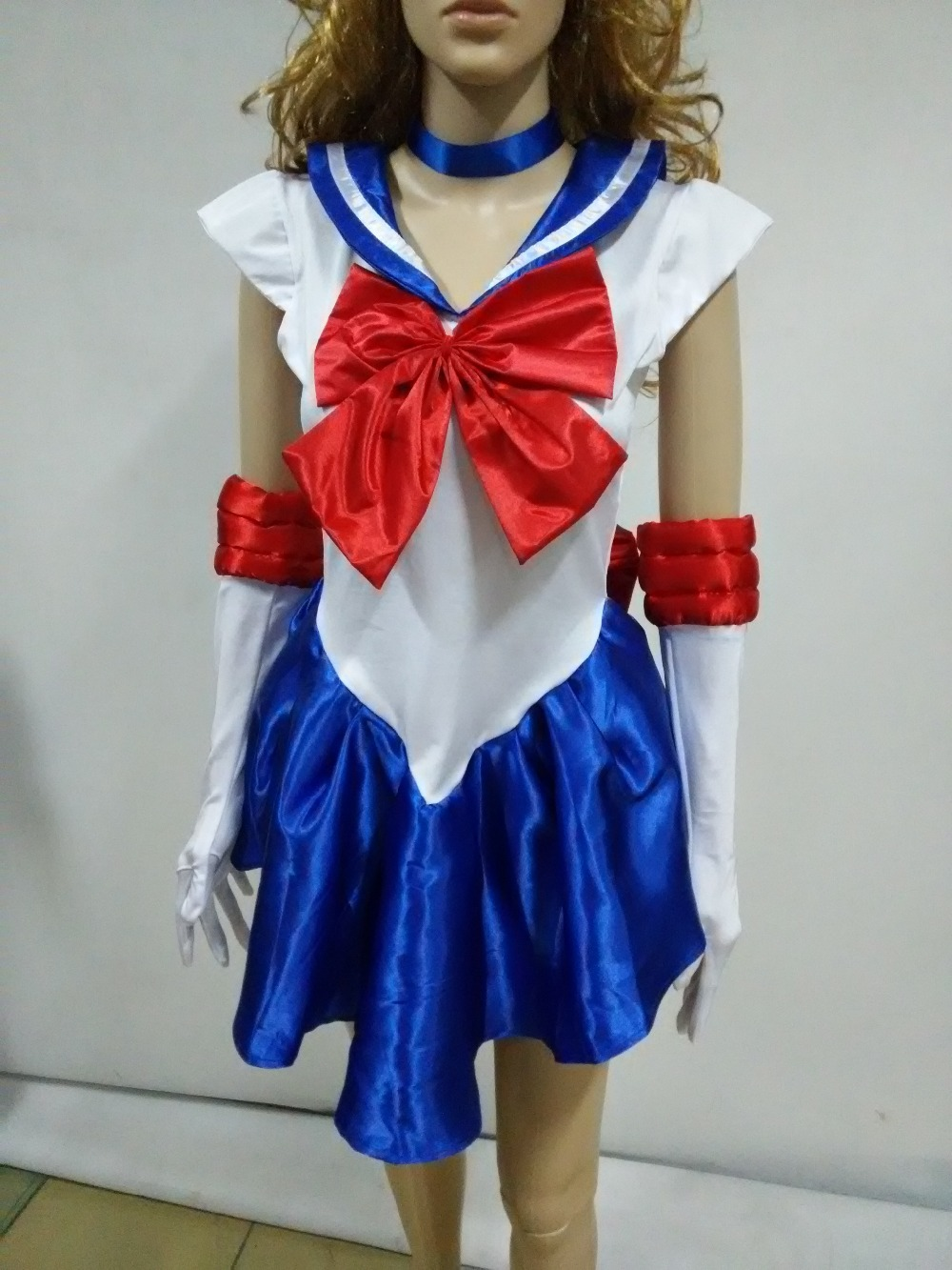 adult blue sailor dress