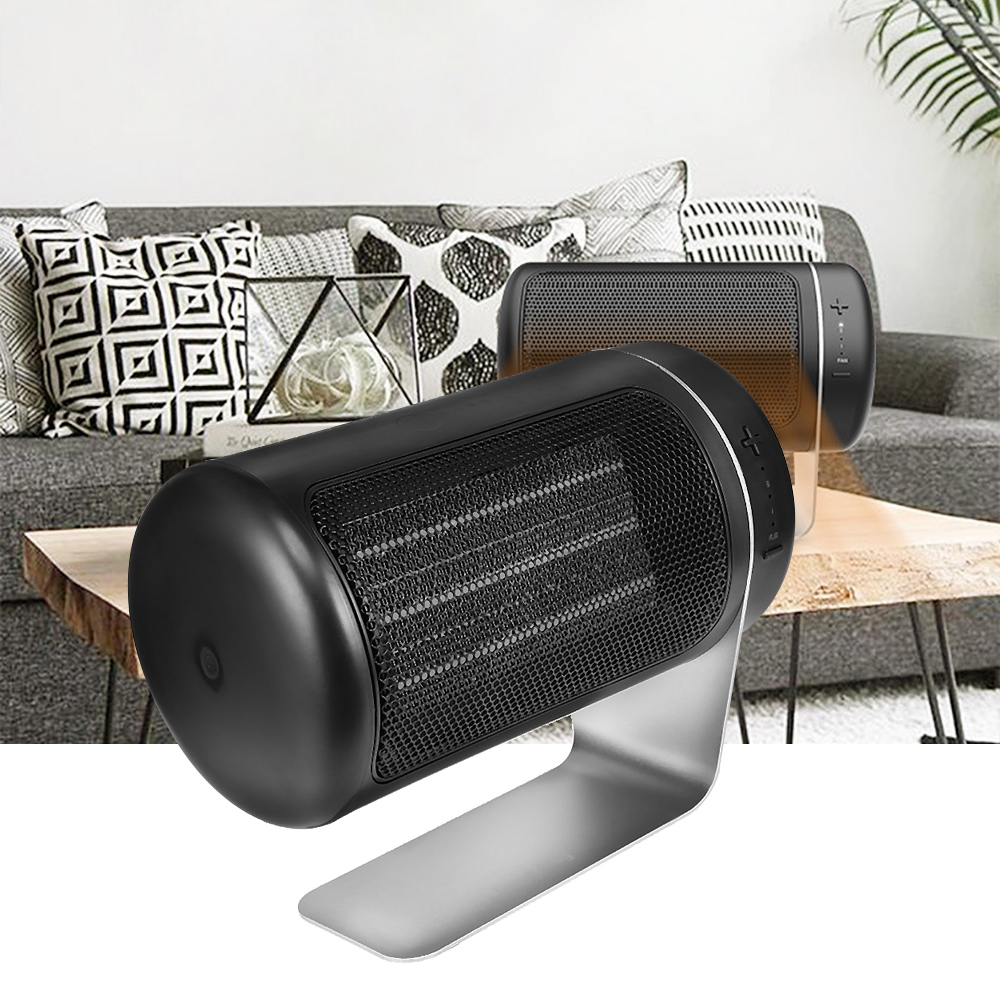 Portable Mini 220V Electric Heater Fan Heater Desktop Warm Air Blower Heating Heat Fan PTC Ceramic Heater For Office Home Room ...
