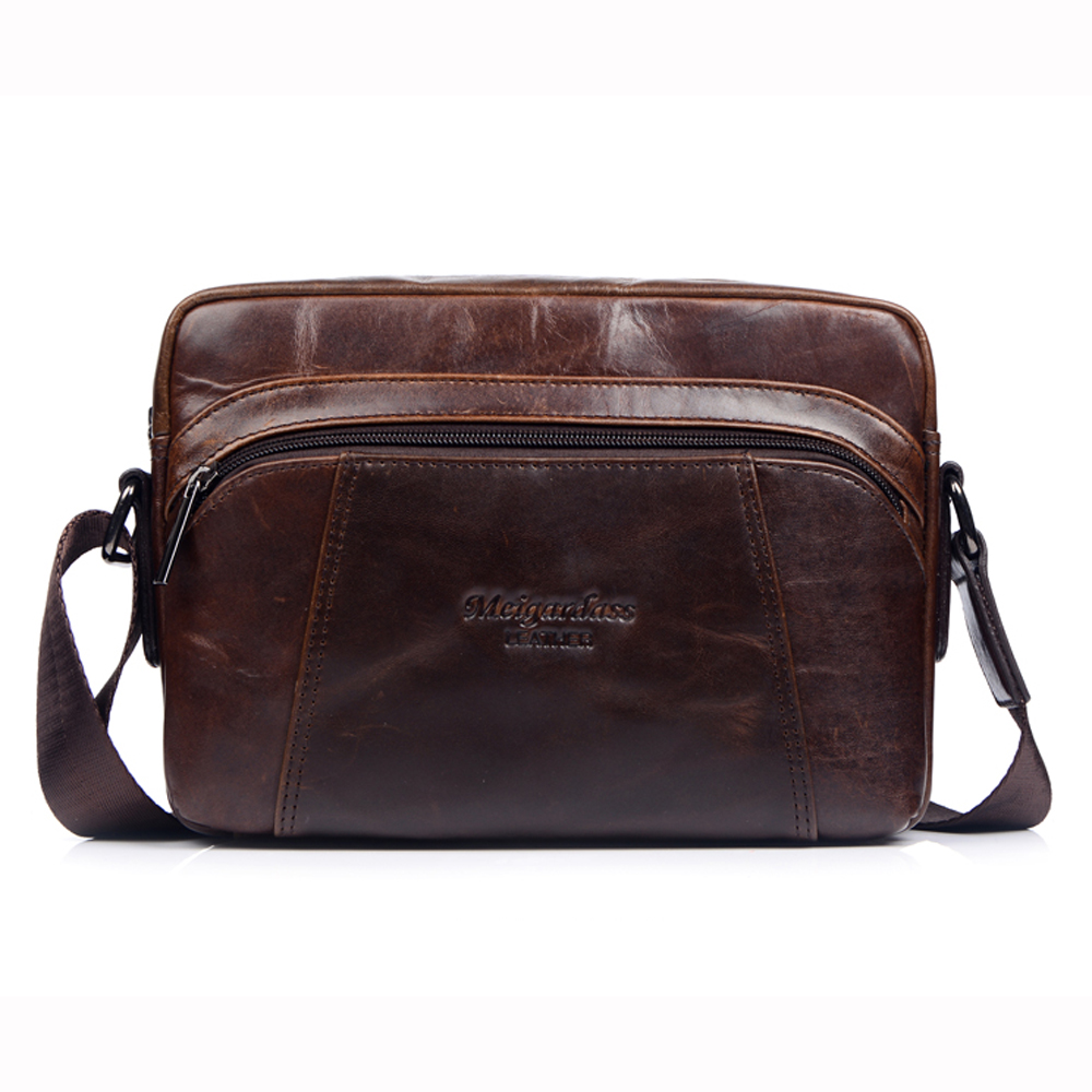 MEIGARDASS Genuine Leather Messenger Bags For Men Small Crossbody Shoulder  Bag Tablet PC Male Cow Real Leather Handbags 2018 New - aliexpress.com -  imall. ... 2d461e0c63