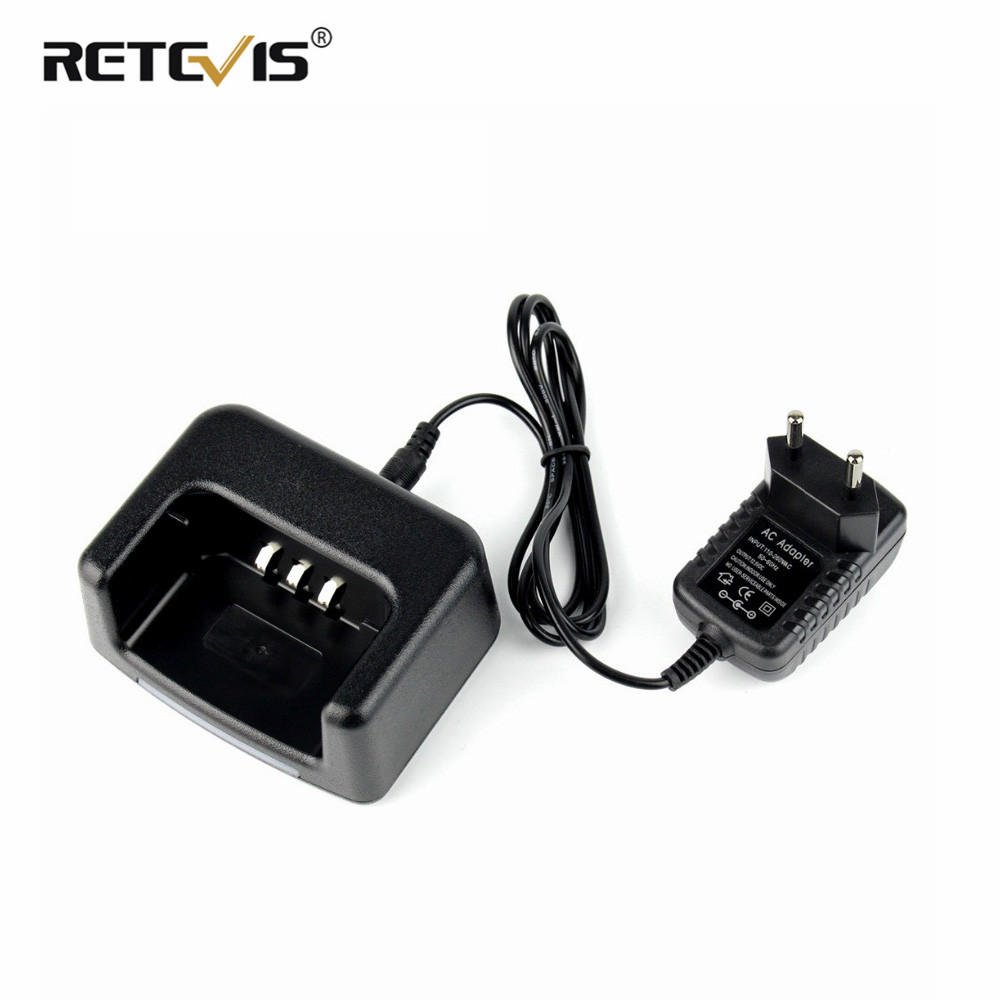Original RETEVIS RT3 Li-ion Battery Charger US/UK/EU/AU Adapter For TYT MD-380 MD 380 RETEVIS RT3 RT3S DMR Radio Accessories