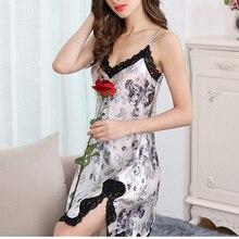 Silk SLEEP Dress REAL SILK women sleepwear healthy home dress Slips SALE 2019 Spring Summer new Black BLUE WHITE