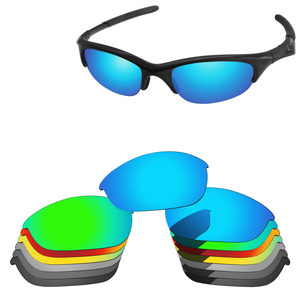 PapaViva POLARIZED Replacement Lenses for Half Jacket Sunglasses 100% UVA & UVB Protection - Multiple Options