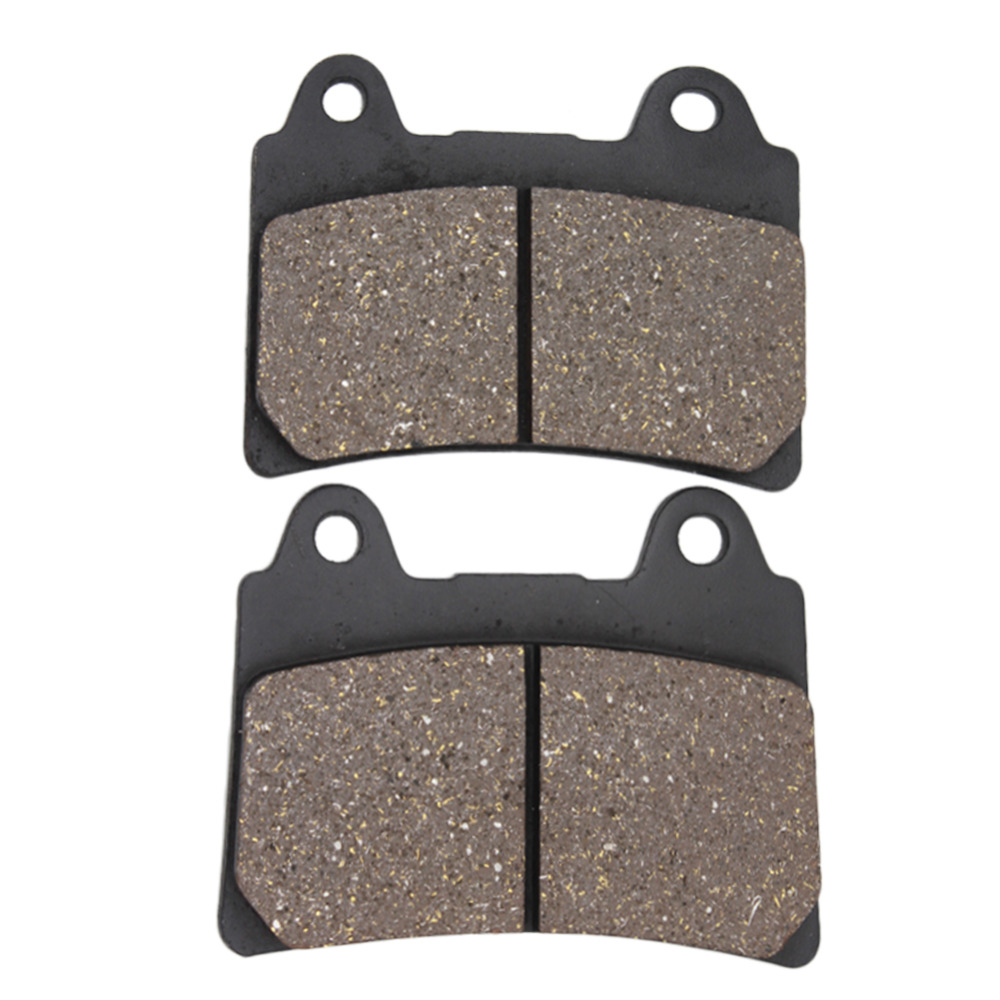 Cyleto Motorcycle Front and Rear Brake Pads for YAMAHA XVZ1300 XVZ 1300 Royal Star Boulevard / Tour Deluxe / Tour Classic 96-01 motorcycle front and rear brake pads for yamaha xvs 1300 ctw ctx v star 1300 tourer 2007 2010 black brake disc pad