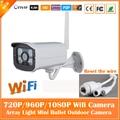 2.0mp HD Securveillance Bala Câmera IP Wi-fi 1080 P Impermeável Ao Ar Livre Segurança CCTV Night Vision Mini Freeshipping Branco Quente