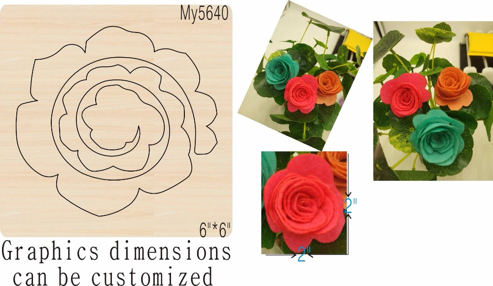 Flower DIY 1 new wooden mould cutting dies for scrapbooking Thickness 15 8mm