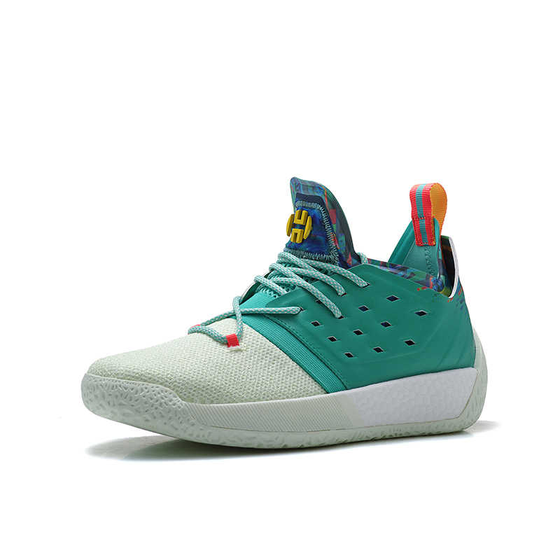 e4b52685c64 ... Mahadeng Basketball Shoes boost Harden Vol.2 B28106 Vision Sports  sneakers green white Size 40 ...
