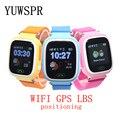 Crianças GPS tracker Relógios Q90 G72 WIFI GPS Dispositivo de localização LBS SOS chamada Anti Perdeu O toque na tela Do Monitor Do Bebê crianças smart watch