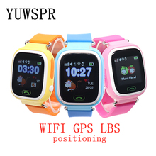 Q90 Kids GPS Tracker Watches Anti Lost Sensor WIFI GPS LBS Location Call Vibration Tracking Baby Smart Watch for 3~10 Years Old