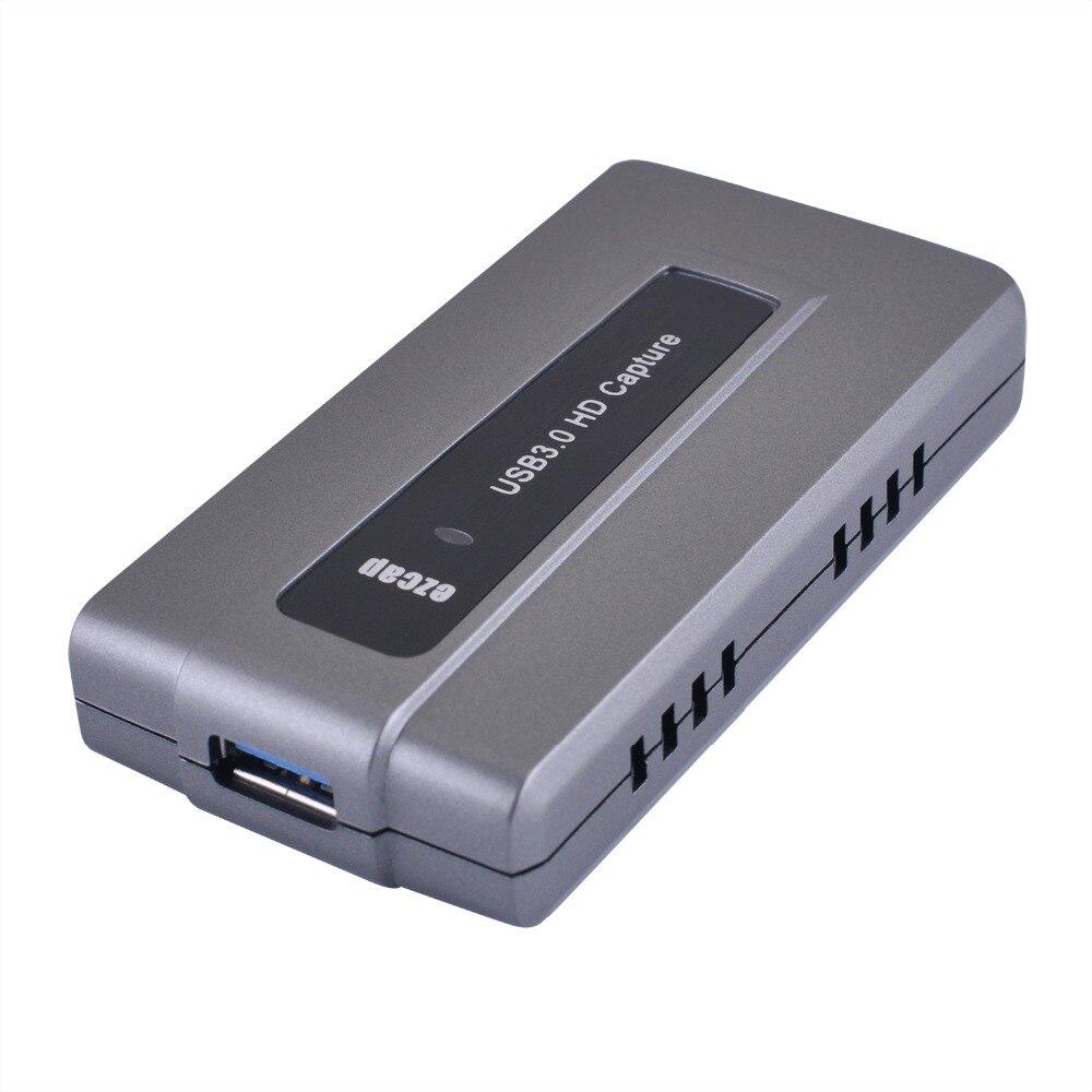 Полный высокой четкости 1080p 60 кадров в секунду захвата USB 3.0 HD для порта USB3.0 игры видео захват адаптер-диск Бесплатная Улучшенный АВ захвата устройства для PS3 и Xbox ТВ