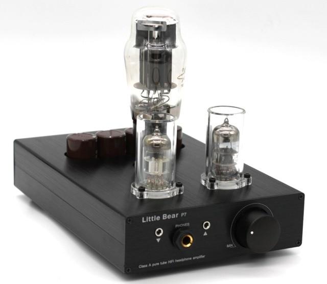 US $109 59 |Little Bear P7 SRPP valve tube 6N5P Headphone Amplifier amp  preamplifier preamp-in Headphone Amplifier from Consumer Electronics on