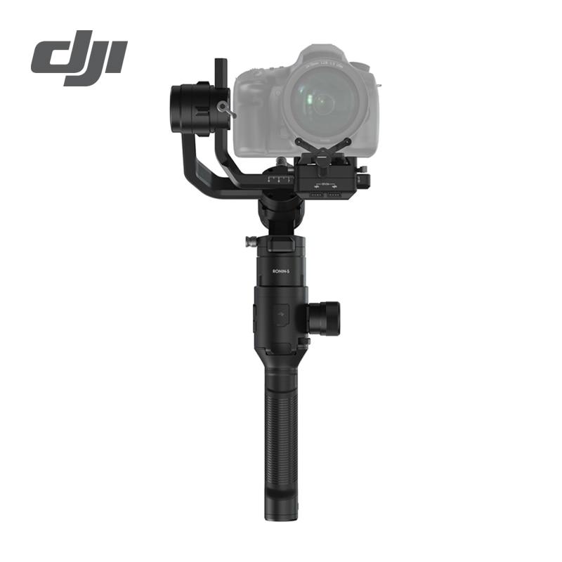 DJI Ronin S stabilisateur 3 axes cardan portatif 3.6 kg capacité de charge utile testée contrôle de mise au point fin lisse autonomie maximale de la batterie 12 heures