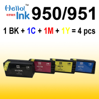 4 X Ink Cartridge For HP 950 951 XL Hp 8610 8620 8680 8615 8625 8600
