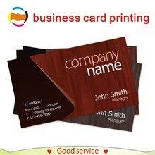 사용자 정의 명함 인쇄 300gsm 종이 이름 vip 방문 카드 사용자 지정 로고 인쇄 명함 사용자 지정 90x54mm