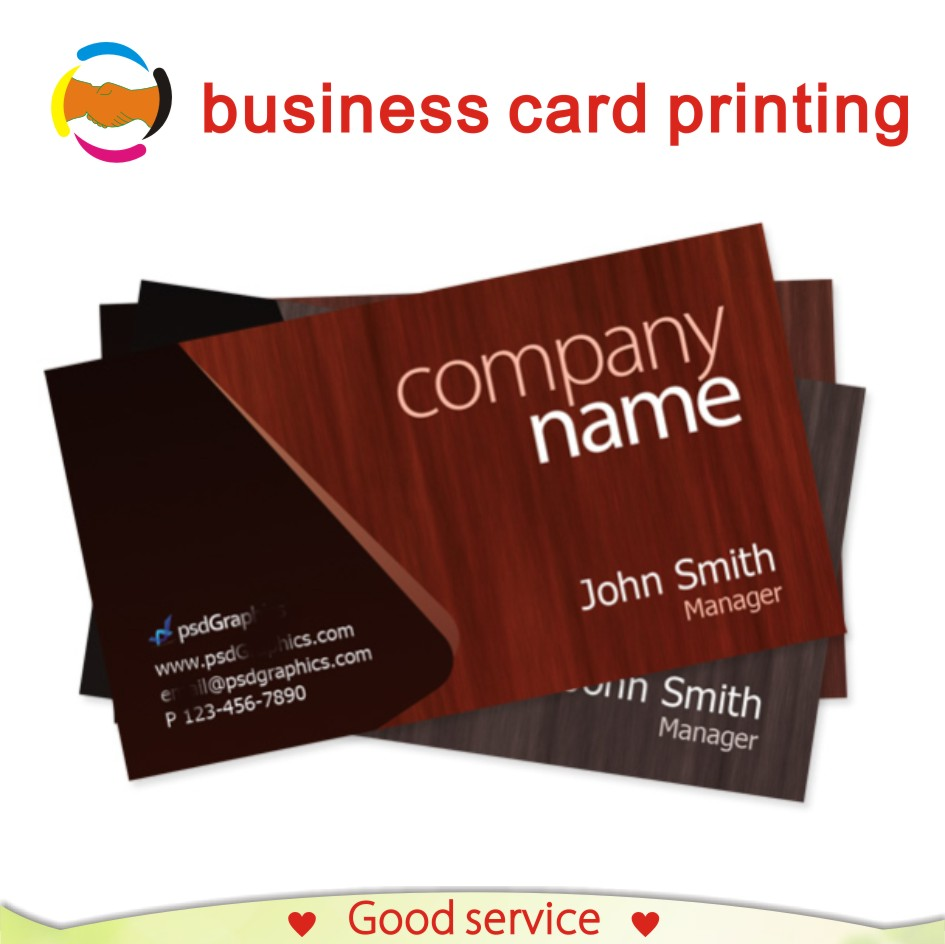 300gsm Custom Name Card Business Card Printing Services 200pcs/set