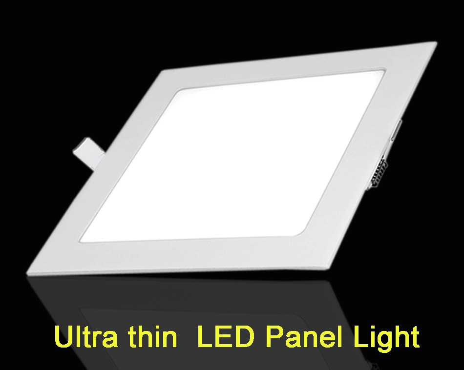 25W Square LED Panel Light Recessed Kitchen Bathroom Ceiling Lamp AC85-265V LED Downlight Warm WhiteCool White Free shipping (23)