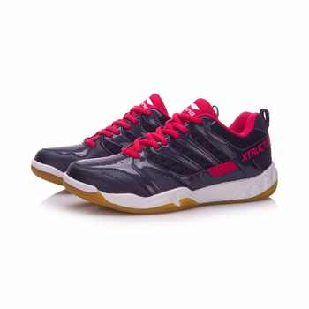 Li-Ning Women STRIKER Professional Badminton Shoes Breathable LiNing Sports Shoes Wearable Anti-Slippery Sneakers AYTN042