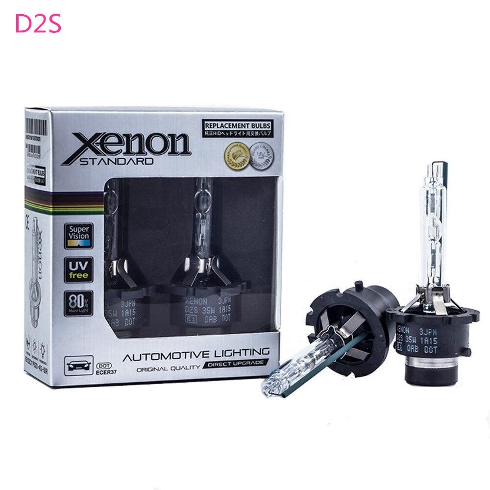 2X D2S D2R D4S D4R D1S D3S 12v 35w Headlamp Light Xenon Bulb For Volvo V40 2013 2014 2015 2016 V60 2011 2012 2013 2014 2015 2016