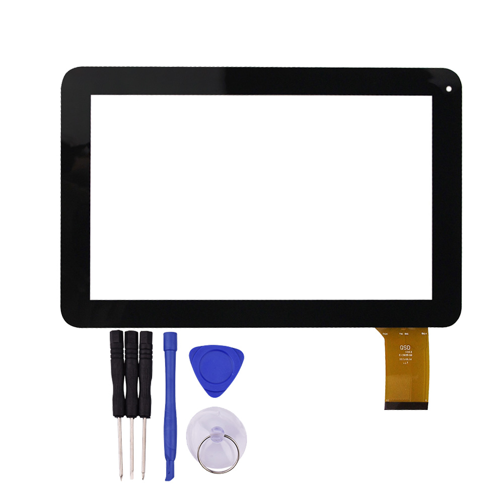 9 inch Touch Screen for Lark FreeMe X4 9 Tablet PC Glass Panel Sensor Digitizer Replacement with Free Protective Film new 9 touch screen digitizer replacement for denver tad 90032 mk2 tablet pc