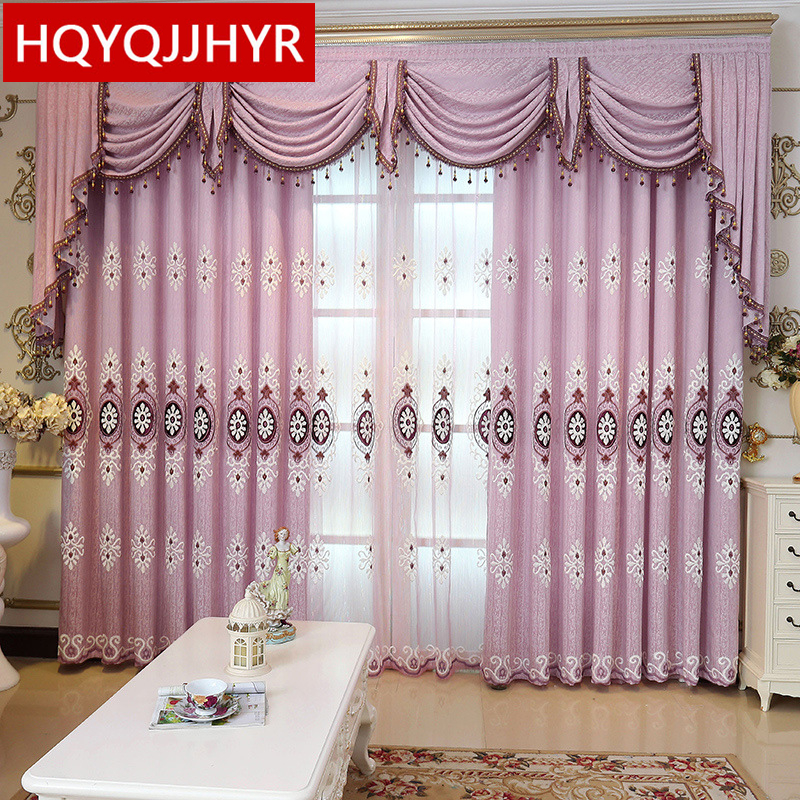Aliexpress.com : Buy Europe Luxury Purple Embroidered
