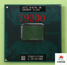 Per Intel Core 2 Duo T9300 2.5 GHz 6M 800MHz di Processore Socket P SLAYY SLAQG CPU Libera Il Trasporto(China)