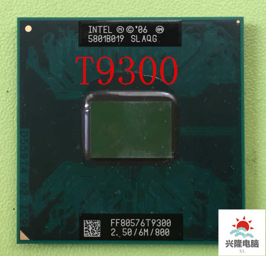 Para procesador Intel Core 2 Duo T9300 2,5 GHz 6M 800MHz, enchufe P SLAYY SLAQG CPU, envío gratis