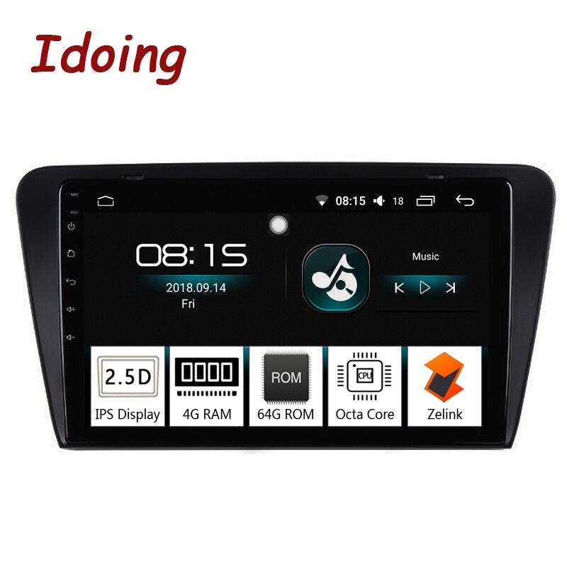 Je fais 10.2 IPS 2.5D 4 GB + 64 GB 1 Din Android 8.0 Autoradio MULTIMÉDIA GPS Lecteur Pour Skoda octavia 2017 8 Core Rapide Boot NoDVD