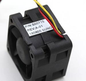 Image 5 - Ventilateurs de serveur à grande vitesse, pour Sunon, original PMD1204PQBX A, 4CM, 4028 12V, 6.8W, 40x40x28mm