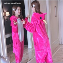 Kigurumi Onesie Cosplay Wholesale Animal Unicorn Adult Unisex Women Pajamas Hooded Sleepwear jumpsuit pokemon costume party
