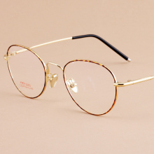 Reading Eyeglasses Optical Glasses Frames Glasses Women Male New Cat Eye Frame Ultra Light Frame Clear Glasses Round 3203
