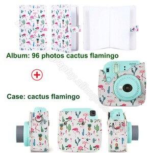 Image 2 - 同じデザインアルバム & puレザーケースペア富士フイルムインスタックスミニ 9 8 カメラ、フイルムインスタックスミニフィルム