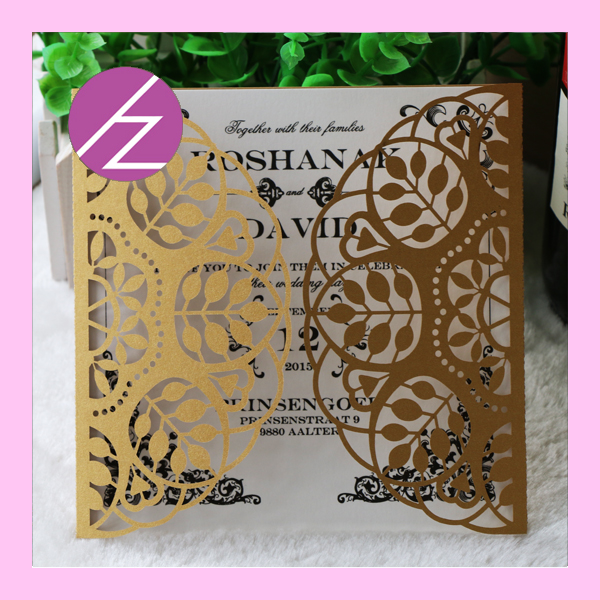 12pcslot top quality wedding invitation card paper crafts free design for you happy wedding