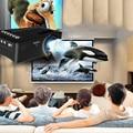 Mini Proyector 1080 P HD LED Multimedia TV VGA HDMI USB Para Cine En Casa Cine UE Plug AH122