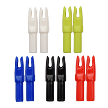 ID 6.2mm 2014 300Pcs Nock for Arrow Accessories Archery Bow Free Shipping Shooting Hunting Indoor Outdoor