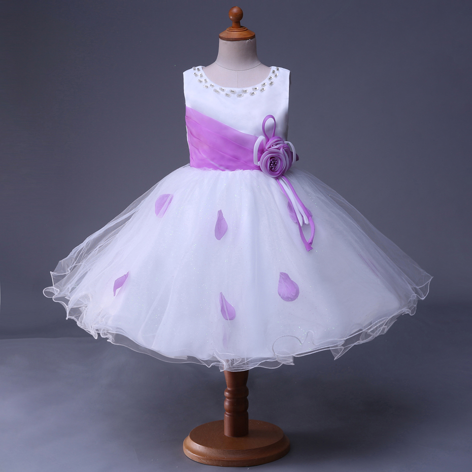 Cutestyle Light Purple Flower Girl Dresses Brithday Party