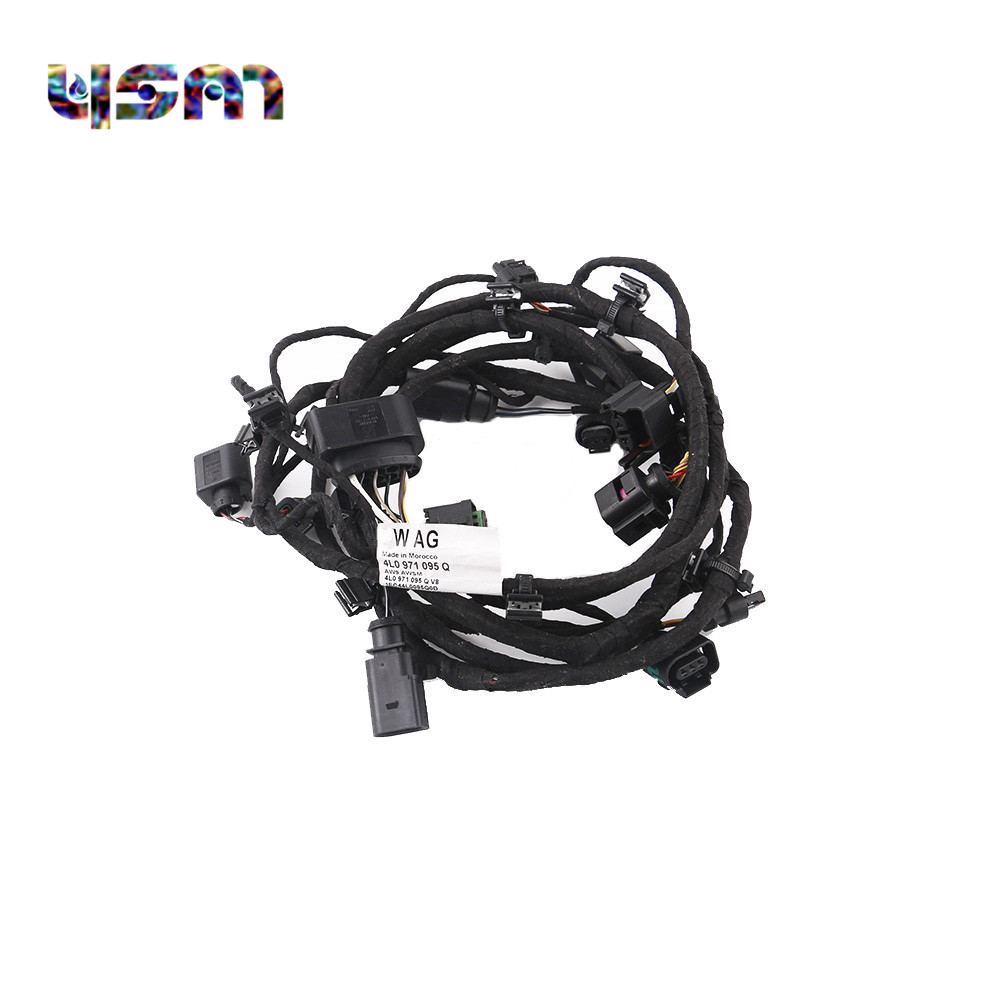 Lowered New Engine Control Module Wiring Harness 4l0971095q For Audi 07 09 Q7 4l0 971 095