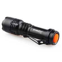 world-wind#3011 2000LM CREE Q5 AA/14500 3 Modes ZOOMABLE bicycle LED Flashlight Torch Super Bright free shipping
