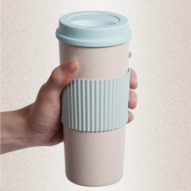 3 Sizes Coffee Cups Travel Mug With Stir Easy Go Cup Portable For Outdoor