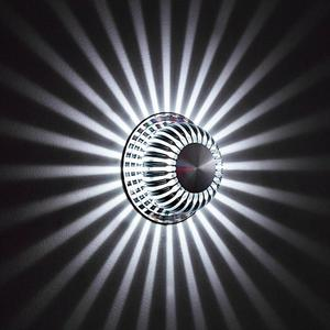 Image 2 - 7 צבע Dimmable LED מנורת קיר עם 24 מפתח מרחוק בקר אורות פמוט לבית מקורה קישוט תאורה מודרני מנורות