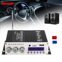 KROAK Bluetooth Hi Fi Stereo Audio Power Car Digital Amplifier 12V Remote Car Amplifier FM Radio