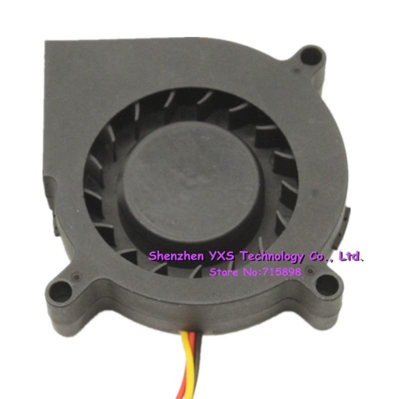 Standard 6CM 6015 turbine blower GB1206PHV1-AY 12V 1.6W 3-wire cooling fan
