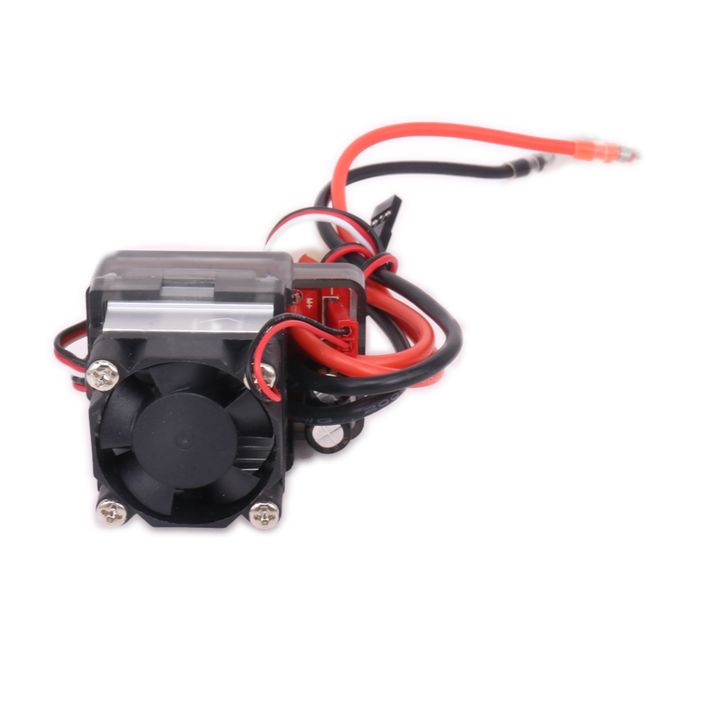 1PC 320A 320Amp Hv High Voltage Brushed Esc Electronic Speed Controller For Rc Model Car Boat Hsp Traxxas Arrma Himoto TD-005 1pc 320a brush speed controller esc 1 8 1 10 1 10 reverse for rc car boat truck 046