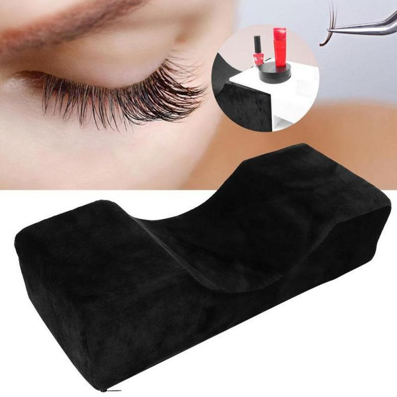 Professional Waterproof Grafted Eyelash Extension Pillow Cushion For Salon Home Use Headrest Neck Support