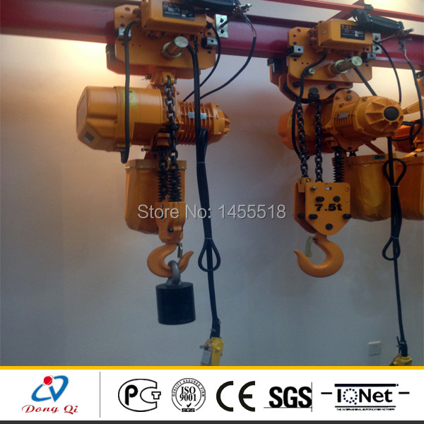 US $2594 0 |Economy WBH 7 5t 3m small electric monorail chain hoist on  Aliexpress com | Alibaba Group