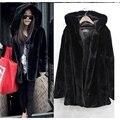 2016 зима новый имитация лиса шубу норки Ближний Восток роскошные женщины длинное пальто из искусственного меха пальто женщин большого размера