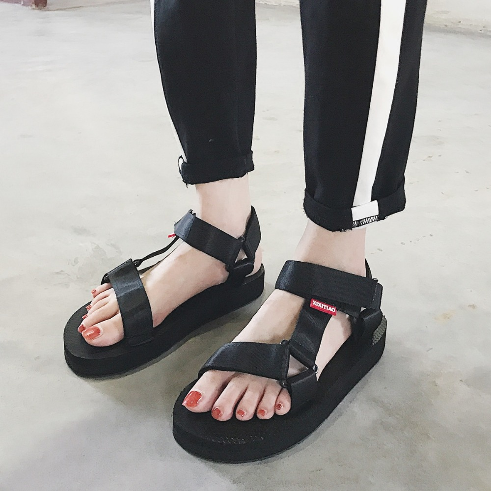 Mazefeng Vietnamese Style Summer Sandals Female Platform Shoes Ladies Gladiator Shoes Women Outdoor Sandals Casual Women Flalts casual bohemia women platform sandals fashion wedge gladiator sexy female sandals boho girls summer women shoes bt574