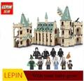 lepin minecraft DHL LEPIN 16030 1340pcs Hogwarts Castle School Building Blocks Kit Set Building Block Bricks Toys Fit For 4842