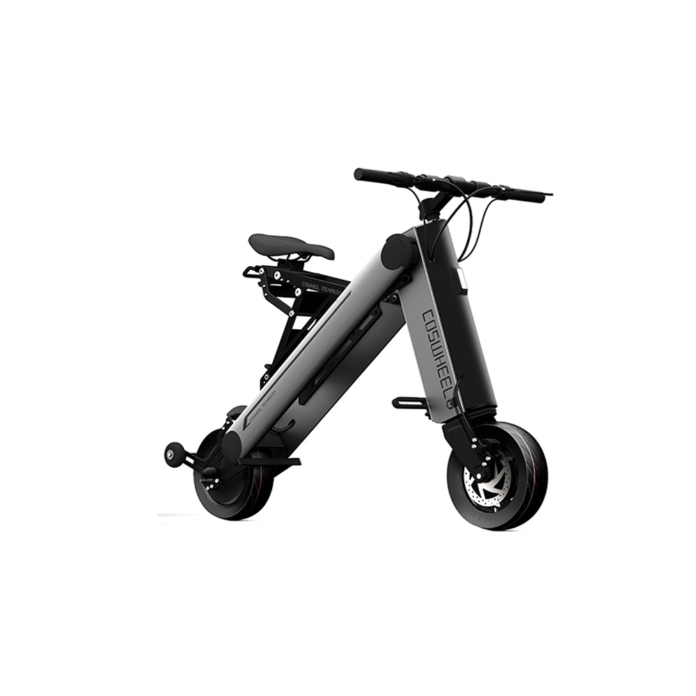 Coswheel a one pro 40km foldable electric scooter portable for Folding motorized scooter for adults