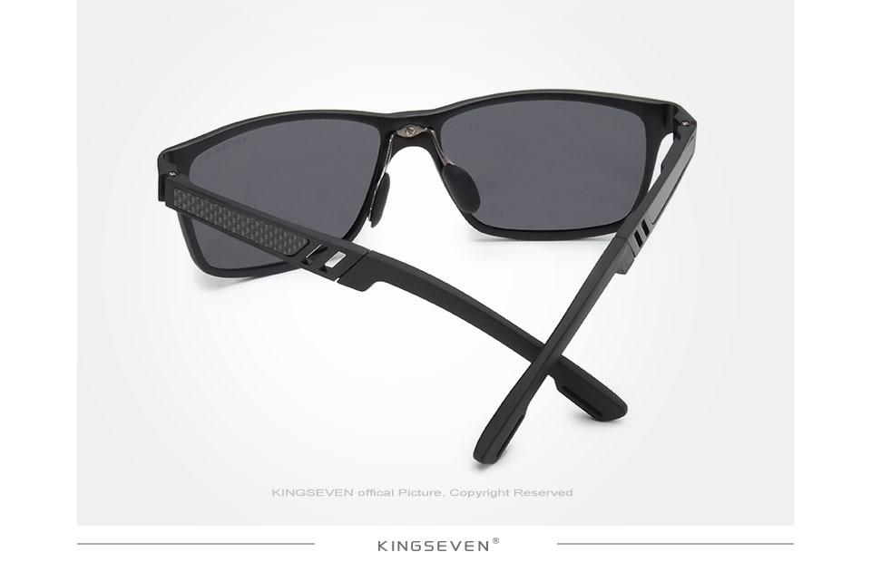 HTB1N 9NfdHO8KJjSZFtq6AhfXXag - KINGSEVEN Men Polarized Sunglasses Aluminum Magnesium Sun Glasses Driving Glasses Rectangle Shades For Men Oculos masculino Male