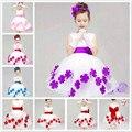 Возраст 3-9 Т девушки Цветка платье детей свадебное платье девочки дети платье принцессы размер 3 т 4 5 6 7 8 9 лет старый
